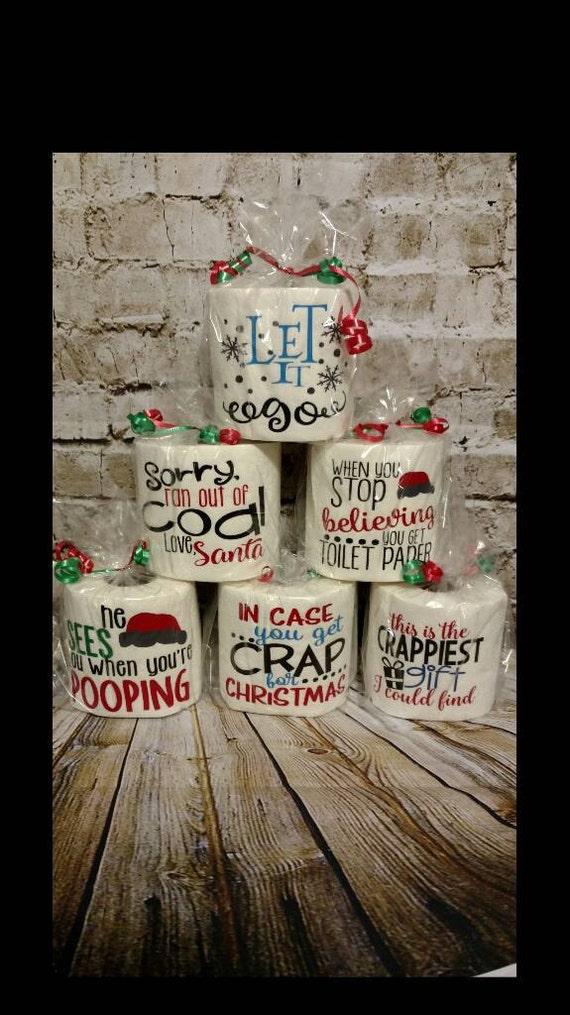 Toilet paper gag gift, Christmas white elephant, secret Santa, gag ...