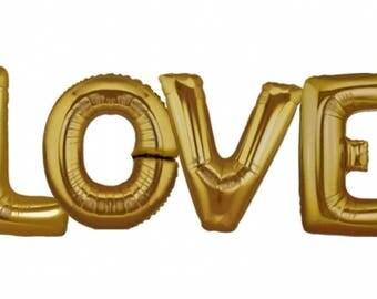 LOVE Balloon | Bridal Shower Decor | Engagement Party Decor | Bachelorette Party Decor | Hen Party Decor | Wedding | Proposal | Valentine