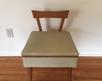 Mid Century Sewing Chair