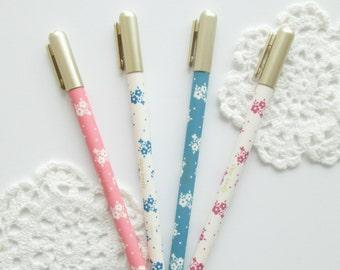 Floral Gel Pens Set