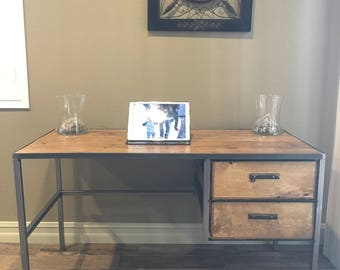 Vintage style Desk, Computer desk, Table, Desk
