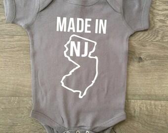 Made in NJ bodysuit , made in any state bodysuit