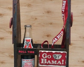 Alabama Wooden Tote