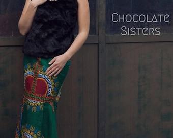 Maxi Skirt 'SALIMATA' (#SS17 CultureClash)