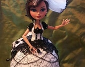 Piper is a One of a Kind Ostrich Egg Doll