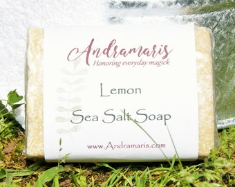 Lemon Sea Salt Soap