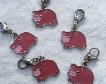 Pig Zipper Pulls | Party Favors | Friendship Gifts | Party Favors and Prizes | Team Gift | Classroom Gift