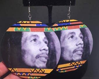 Bob Marley Earrings