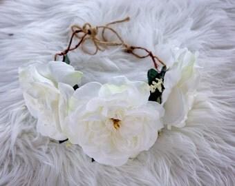 flower crown . Flower crowns . roses flower crown . Maternity flower crown . Photo shoot crown . Kids flower crown . Wedding flower crown