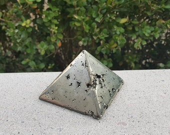Pyrite Pyramid, Fool's Gold, Crystal Pyramid, Pyrite