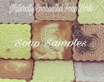 Pick Ten Natural Soaps, You pick 10 Sample Size Soap Bars, Choose Ten Natural Soaps, Natural Soap Bundle, Soap Lot, Sampler Pack,