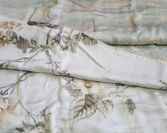 100 % Organic Bamboo Queen Duvet Quilt Doona Cover Set Handmade Reversible Two Designs