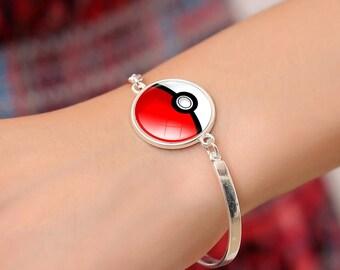 Pokeball Bracelet - Pokemon Bracelet