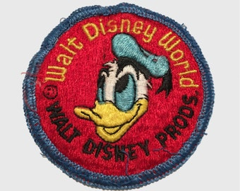 Vintage Walt Disney World Patch - RARE!