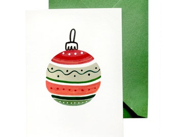Holiday Greeting Card | Ornament