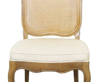 THOMASVILLE Place Vendome French Provincial Cane Back Side Chair 800-88