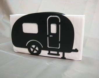 Camper Napkin Holder Letter Holder Camping Decor