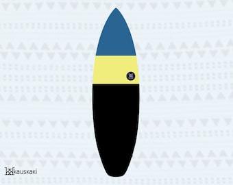 Toucan Samurai | Surfboard Sock | On Sale