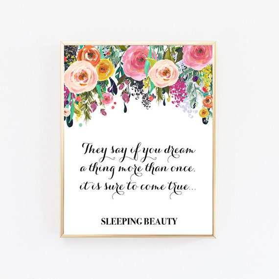 Wall Art Quotes Disney : Digital wall art disney prints quotes quote