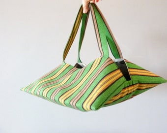 Bag fabric traditional Estonian green pie