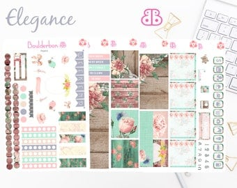 Elegance | Planner Stickers | Weekly Planner Sticker Set, Pretty Sticker set