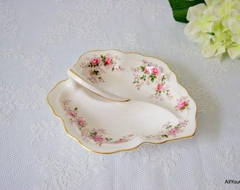 Lavender Rose by Royal Albert, Vintage Royal Albert, Vintage Bone China, Vintage Nutbowl, Vintage China Tableware, Wedding China, c 1960 s