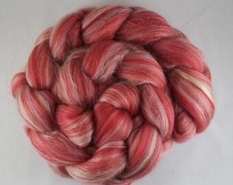 VALENTINE Blended Roving, Merino - Silk, 100g