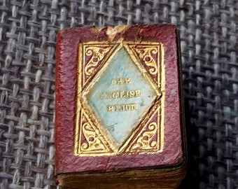 this is the English bijou almanac for 1838 poetically illustrated by L.E.L.  miniature book
