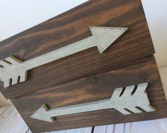 Wooden Arrows - Arrow - Arrow Wall Decor - Rustic Home Decor - Wall Decor - Wood Signs - Rustic Wood Signs - Nursery Decor - Rustic Nursery