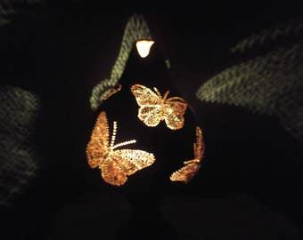 Gourd Lamp gourd lamps | etsy
