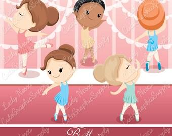 Ballerina clipart, ballet clipart, ballerina LN0143