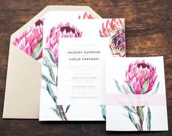 Protea Invitation