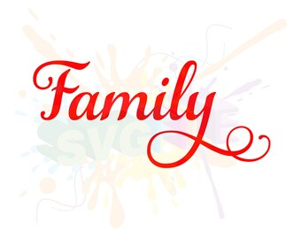 Family SVG Files for Quotes Cutting Cricut Designs - SVG Files for Silhouette - Instant Download