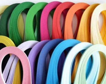 10 pcs paper quilling Strip