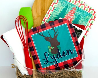 Personalized Potholders for the Holidays!