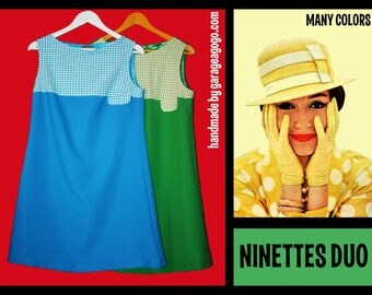 Dress retro, 60s style. NOT vintage handmade