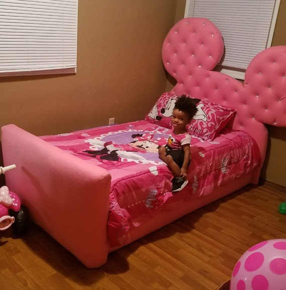 Twin Size Minnie Mouse Bed