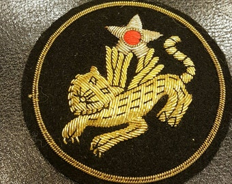 Bullion 14th USAAF Flying Tiger Shoulder Patch Beautiful Condition a must see L@@k!!!!!