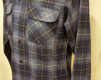 Great ~ Mens ~ Present ~ Incredible ~ Vintage ~ Pendleton ~ Shirt ~ 100% Wool ~ Made in USA