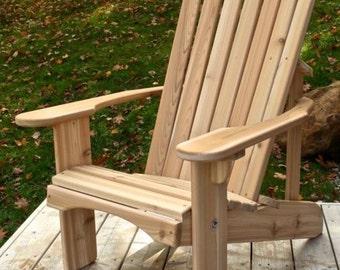 Classic Adirondack Cedar Chair