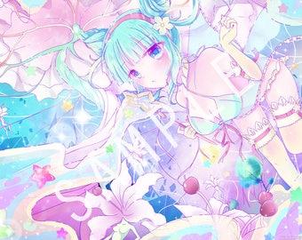 GIRL  [Daoko]   1x Art Print