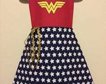 Wonder Woman Dress Up Apron - DC Superhero Girls