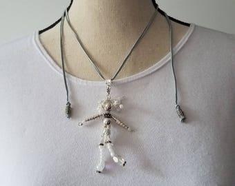 Silver dancing girl