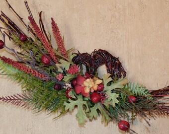 Heart Floral Wreath