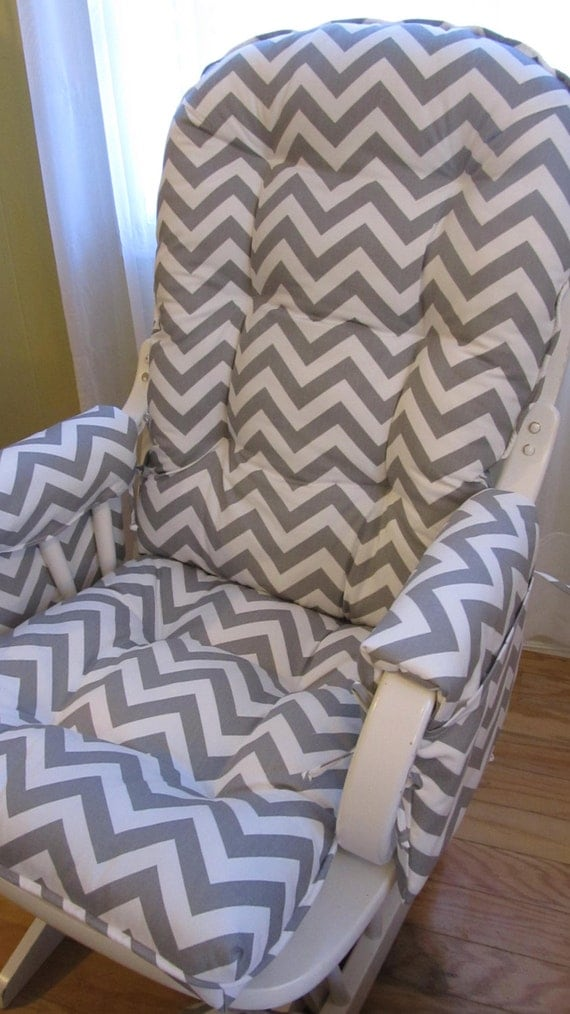 Glider Rocking Chair Cushion Set With Matching By