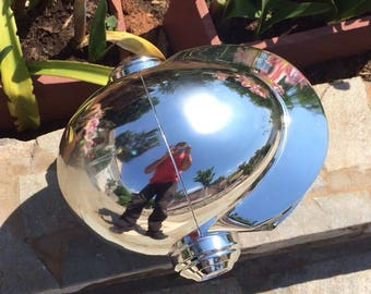 Daft Punk Helmet Thomas Bangalter Super high quality Real Chrome New V7 2017 Chrome Mirror