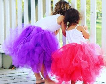 Classic Purple Floor Length Tutu Skirt