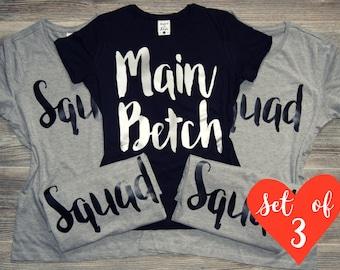 SQUAD Shirts, Bride Squad Shirts, Birthday Squad Shirts, Birthday Shirt, Birthday Squad, Birthday Girl, Squad Goals, Birthday Squad Shirts