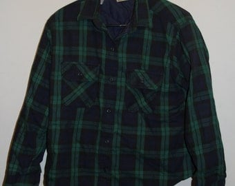 SALE 25% OFF Vintage L.L Bean Insulated Flannel Jacket