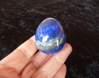 Large Lapis Lazuli Egg From Afghanistan